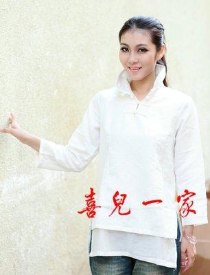 中式襯衫/民族風必備款.打底外穿百搭....