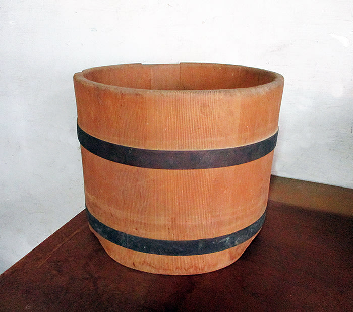 檜木桶子置物盒花器台灣民藝楊【心生活美學】