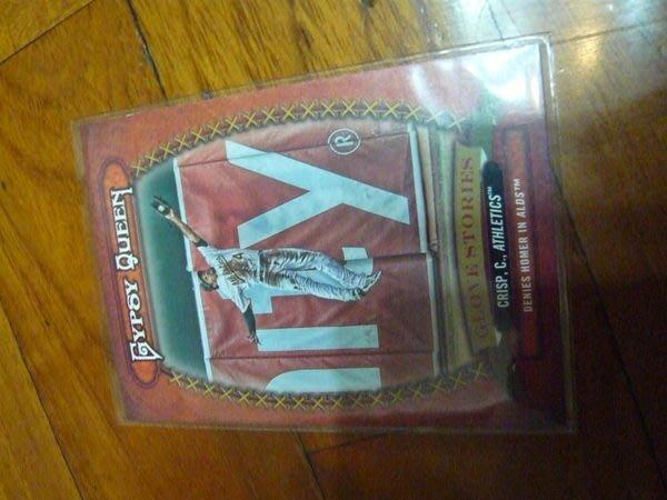 運動家超強外野手COCO CRISP特卡一張~10元起標