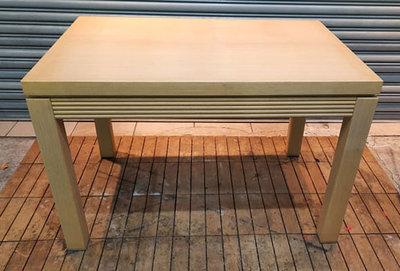 樂居二手家具館 便宜2手傢俱賣場 A0124BJJE 白橡色餐桌  洽談桌 會議桌 辦公桌 電腦桌書桌 台北新竹