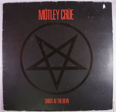 《二手德版黑膠》Motley Crue - Shout At The Devil