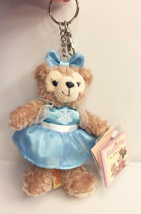 ^燕子部屋 ^ 香港迪士尼 達菲雪莉吊飾娃娃鑰匙圈
