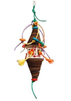 ☆汪喵小舖2店☆ 美國 ZOO-MAX 阿迷購鳥用玩具-派對小丑 // 適合大型鸚鵡、中大型鸚鵡