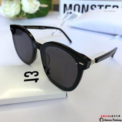 美國大媽代購 GM gentle monstergm  前衛時尚 獨特有型太陽眼鏡  顏色1  墨鏡 潮流新寵 韓國代購