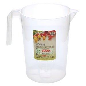 315百貨~手工皂的好幫手~LF3000 LF-3000 名廚標準3000CC量水杯 /  液體皂 母乳皂 漸層奶油皂製作 台中市