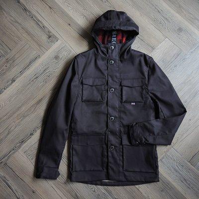 1元起標無底價(HA) - 英國產 PEREGRINE FELL JACKET高密度無油蠟棉質毛毯內襯風衣外套