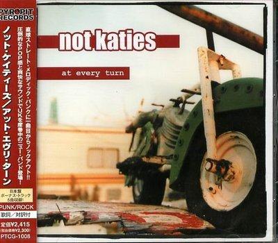 K - NOT KATIES - At Every Turn - 日版 +5BONUS - NEW