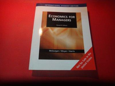 【愛悅二手書坊 17-01】《Economics for Managers》11e Mcguigan/Moyer/Har