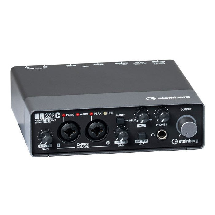 ☆唐尼樂器︵☆分期免運 YAMAHA Steinberg UR22C  樂器 Midi 音訊/錄音介面 直播設備