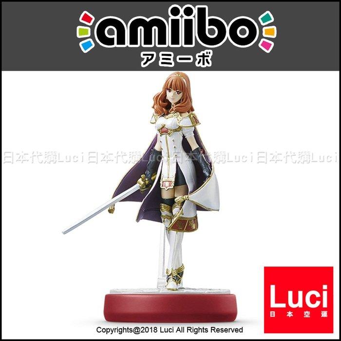雪莉卡 amiibo 大亂鬥系列 回音 英雄王 聖火無雙 Switch 任天堂 LUCI日本代購