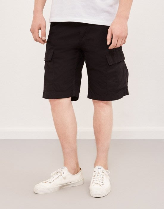 ☆AirRoom☆【現貨】Carhartt WIP Aviation Shorts 口袋褲 工作褲 短褲 黑色