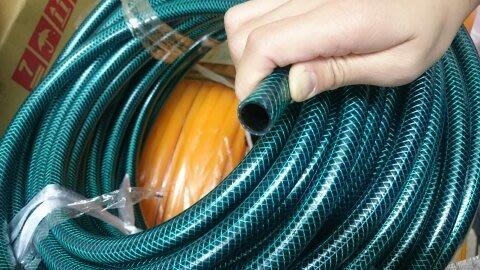 TC量販店I 4分管 包紗管 DIY灑水系統 不易脆化 不易長青苔 台灣製/ 綠色包紗管(零售尺5元)