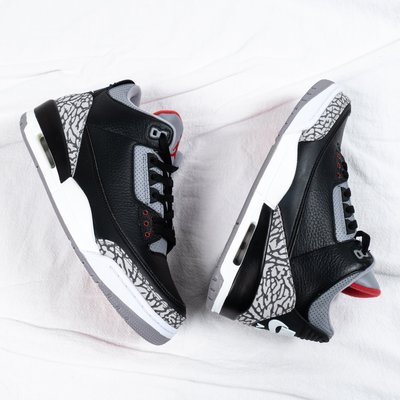 Air Jordan 3 OG Black Cement 籃球 黑水泥 854262-001