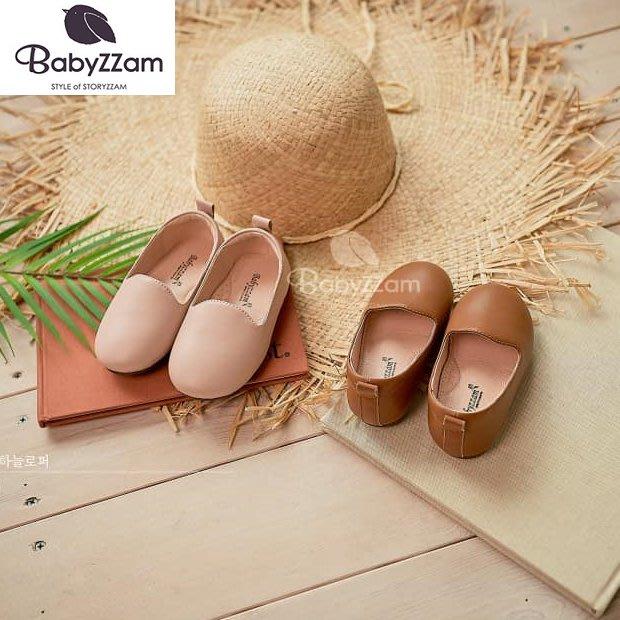 『※妳好,可愛※』妳好可愛韓國童鞋 BABYZZAM~正韓 時尚簡約便鞋 童鞋 韓國童鞋