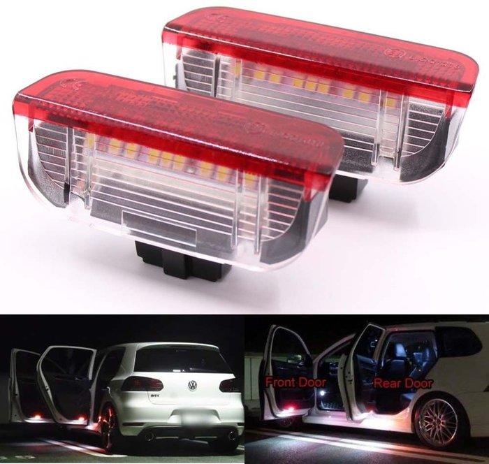◇光速LED精品◇ VW 福斯 GOLF5.GOLF6 PASSAT B6.LED 車門燈 照地燈