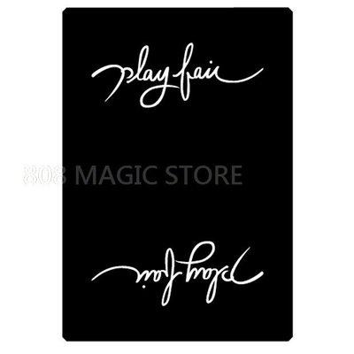 [808 MAGIC]魔術道具  Play fair V2(Black黑)