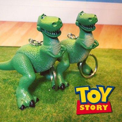 迪士尼 玩具總動員 抱抱龍 恐龍 暴暴龍  鑰匙圈 吊飾 鑰匙扣 玩具 公仔 扭蛋