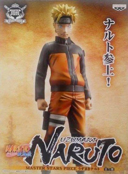 日本正版 景品 NARUTO 火影忍者 疾風傳 MSP 漩渦鳴人 模型 公仔 日本代購