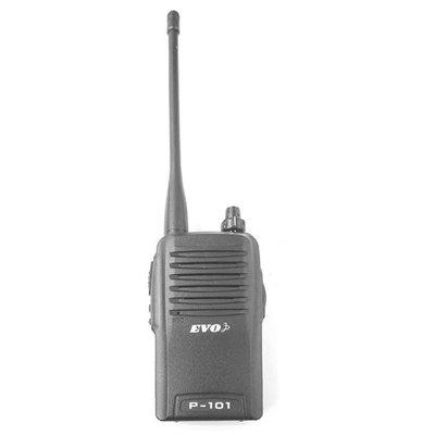 「實體店面」EVO P-101 高功率 手持式 無線電 對講機 超長通話距離 超大喇叭音量 14組通話主頻道 P101
