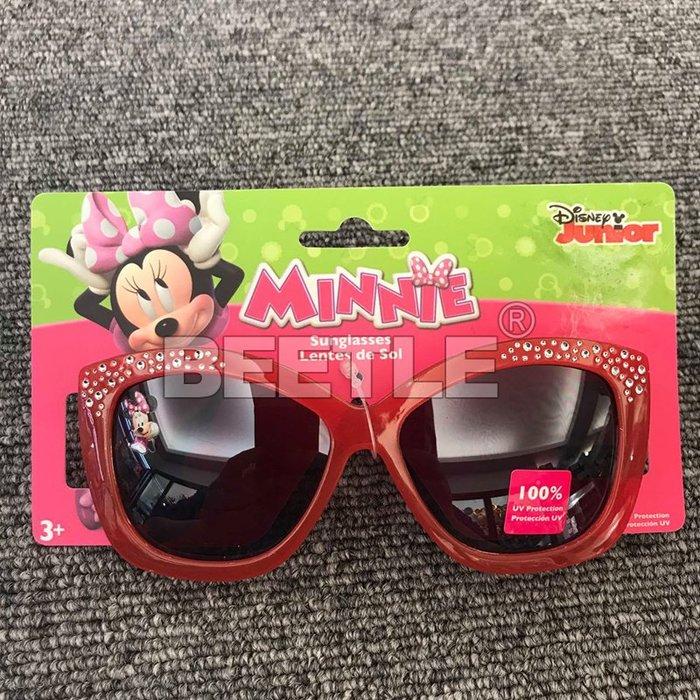 BEETLE DISNEY MINNIE SUNGLASSES 米妮 米老鼠 迪士尼 兒童 太陽眼鏡 紅 粉紅 抗UV