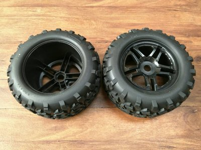 HOT ATION 全新超低價1/8 大腳胎 輪座17MM E6 SUMMIT 可用