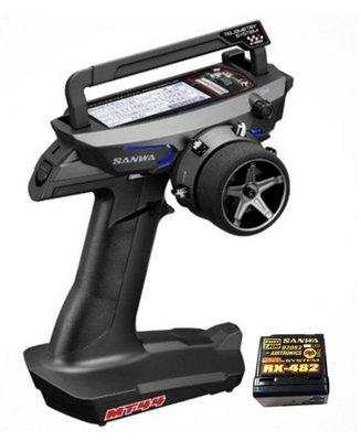 大千遙控模型 SANWA MT-44 2.4G 槍型遙控器(RX482單接收版)