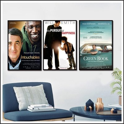 逆轉人生 當幸福來敲門 幸福綠皮書 Green Book 海報 電影海報 掛畫 嵌框畫 @Movie PoP 多款 ~