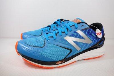 =小綿羊= 零碼 New Balance MSTROLU2 2E 藍橘 紐巴倫 男生 慢跑鞋 路跑鞋 超輕量 新北市