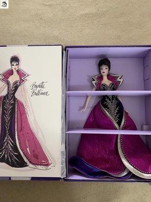 九州動漫芭比 Brunette Brilliance Barbie Bob Mackie名人設計師珍藏現貨