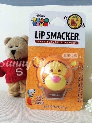 【Sunny Buy寶貝館】◎現貨購◎迪士尼 Tsum Tsum Lip Smacker 護唇膏 跳跳虎 泡泡糖口味