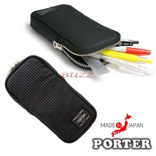 巴斯 日標PORTER屋-預購 PORTER DRAWING 筆袋 650-08773