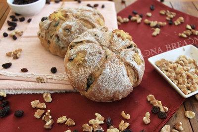 【普蕾納】 纖果恬心-Fruit and Nut Yeast Bread