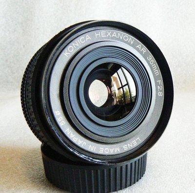 【悠悠山河 】A7R3,A73,E口直上-Leica味 KONICA HEXANON AR 35mm F2.8 短版精品