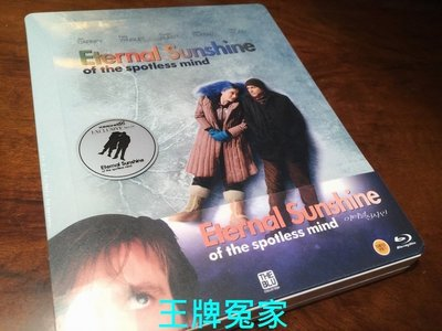 【BD藍光】王牌冤家:1/4外紙套限量鐵盒版Eternal Sunshine of the Spotless Mind