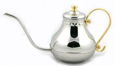 【無敵餐具】細嘴宮廷壺(1L) 冷水壺/咖啡壺/細口壺 量多歡迎來電洽詢喔^^【AB-16】