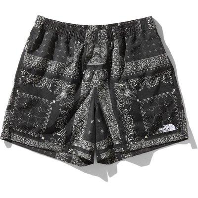 THE NORTH FACE Novelty Versatile Shorts BANDANA 迷彩 短褲。太陽選物社