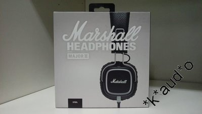 LK SOUND 全新行貨 Marshall Major ll 第2代 (Steel) Headphones 耳機