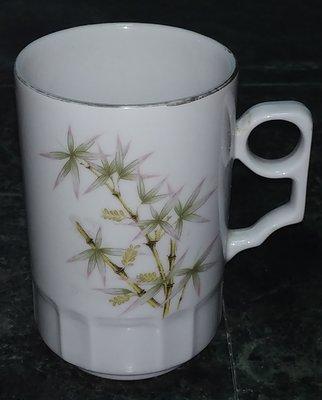 早期 大同 竹花泡茶杯 馬克杯 無耳茶杯。。特殊款竹花。。網路看不到第2個