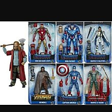 Marvel Legends End Game Wave 3 一套連 Baf 肥雷神 全新