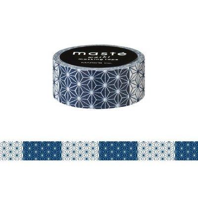 【R的雜貨舖】紙膠帶分裝 MARK'S maste和紙膠帶-ィ/麻の葉 和風炳