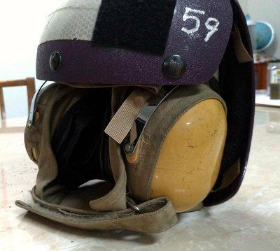 美軍公發 飛行甲板指揮員頭盔