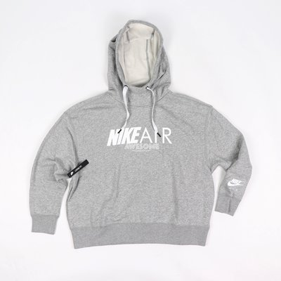 [歐鉉]NIKE NSW AIR 灰色 刷毛 連帽 帽T 女生 AR3655-063