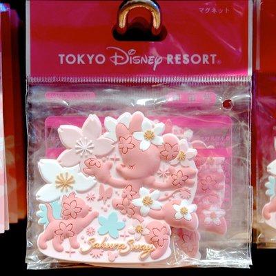 ArielWish日本東京迪士尼樂園2020櫻花季春天浪漫粉紅色春神米妮瑪麗貓Mario辦公室冰箱磁鐵便利貼夾子-絕版品