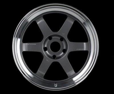 DJD19050652 日本正RAYS TE37V MARKll LM 18吋 鍛造鋁圈 依當月報價為準