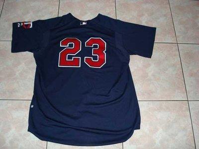 MLB MINNESOTA TWINS #23 STEWART GAME USED BP JERSEY 實戰球衣
