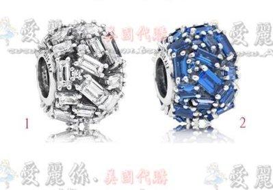 【愛麗絲精品代購】Pandora 潘朵拉 鑲鑽新款優雅冰晶串珠 925純銀珠 澳洲精品代購