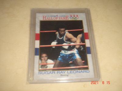職業拳擊 Sugar Ray Leonard 1991 Impel Olympic #29 球員卡