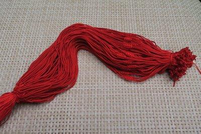 518中國結綁繩.扣頭專賣--中國結綁繩--N88   翡翠玉墜 掛件 兒童綁繩  ( 红色) 買10條送1條