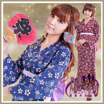 【T-083】春の櫻花東洋和服/浴衣~贈送髮飾.專賣女僕裝.學生服~蜜蜜衣舖