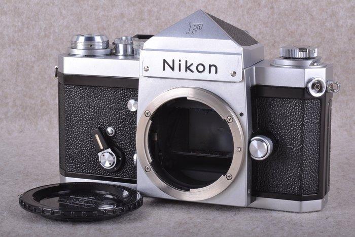 【品光攝影】Nikon 大F 機械式 底片機 135底片 日本製 銀色 手動 裂相對焦屏 FE#54528
